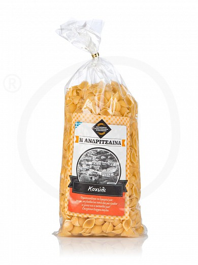 "«Shell shape» traditional pasta from Ilia ""Andritsena"" 500g"