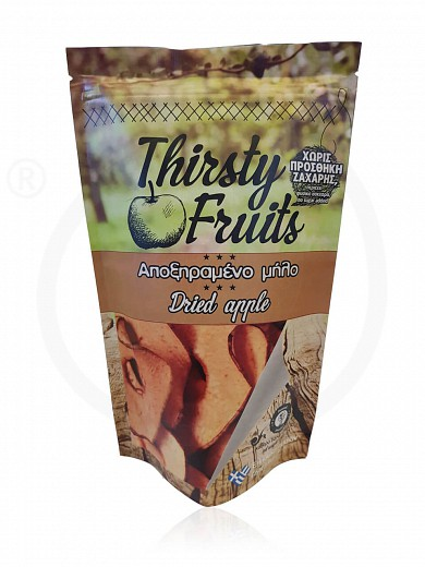 """Sugar-free sliced sun-dried apple from Xylokastro """"Thirsty Fruits"""" 25g"""