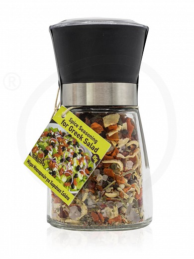 "Spice greek seasoning for salad in grinder from Attica ""Kollectiva"" 95g"