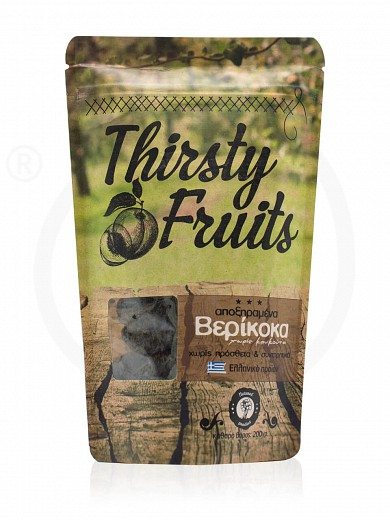 "Sugar-free sun-dried apricots from Xylokastro ""Thirsty Fruits"" 200g"