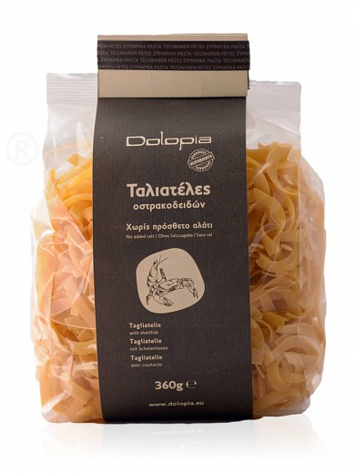 "Tagliatelle with shellfish from Fthiotida ""Dolopia"" 360g"