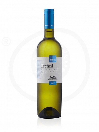 "«Techni Alipias» P.G.I Drama ""Wine Art Estate"" White Wine 750ml"