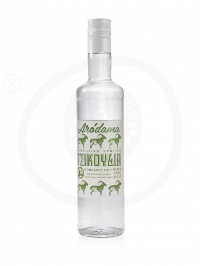 "Traditional Cretan distilled grape spirit «Tsikoudia» ""Arodama"" 500ml"