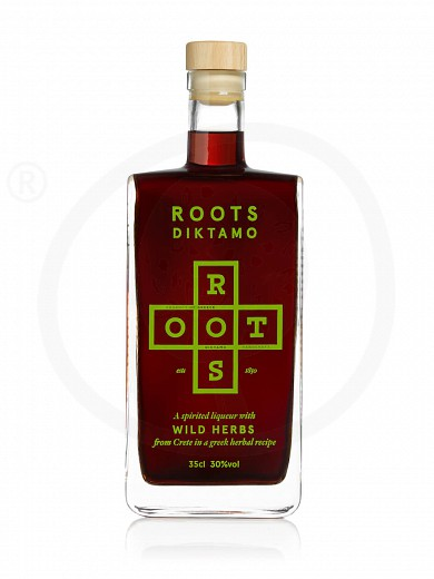 "Traditional liqueur «Diktamo» from Attica ""Roots"" 350ml"