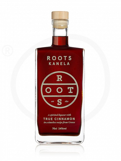 "Traditional liqueur «Kanela» with cinamon from Attica ""Roots"" 700ml"