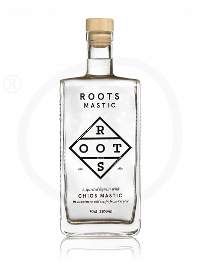 "Traditional liqueur «Mastic» with Chios mastic from Attica ""Roots"" 700ml"