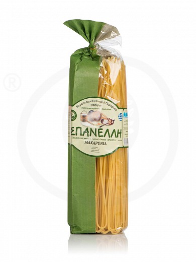 "Traditional spaghetti from Ioannina ""Spanelli"" 500g"