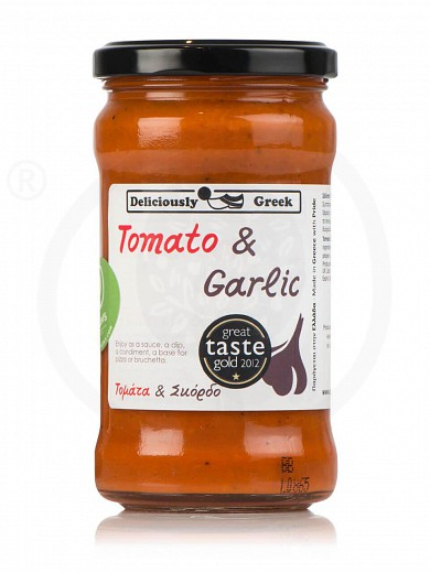 "Traditional tomato & garlic sauce from Attica ""Simply Greek"" 280g"