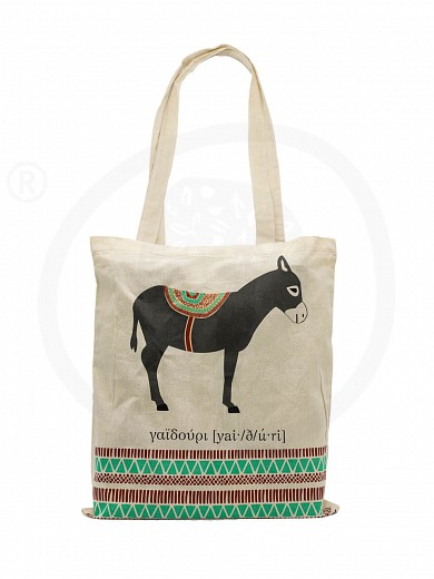 "Cotton handbag «Donkey» ""Kollectiva"""