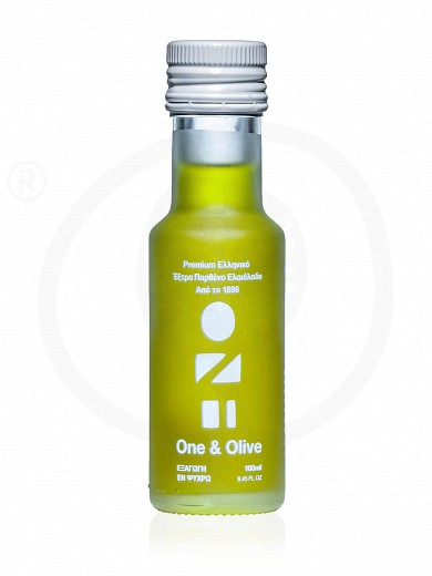 "Extra virgin olive oil «One & Olive» from Messinia ""Anagnostopoulos"" 100ml"