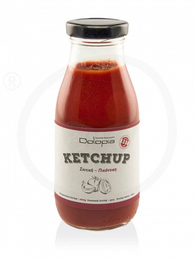 "Homemade spicy ketchup from Fthiotida ""Dolopia"" 280g"