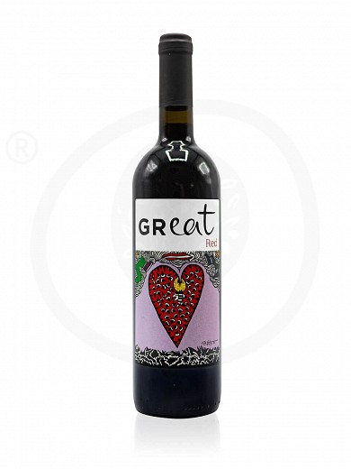 Limited edition «GReat» by Yoleni's Red Wine 750ml