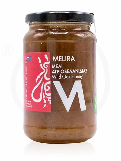 "Oak tree honey from Evia ""Melira"" 450g"