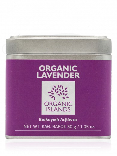 "Organic lavender from Naxos ""Organic Islands"" 30g"