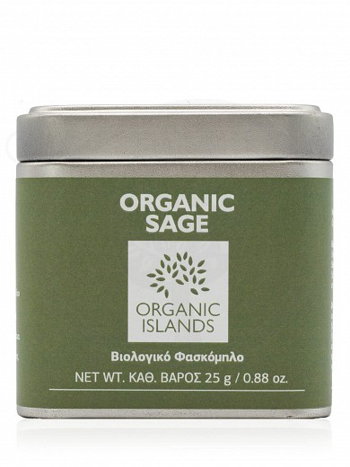 "Organic sage from Naxos ""Organic Islands"" 25g"