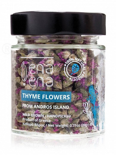 "Organic thyme flowers from Andros ""Ena Ena"" 20g"