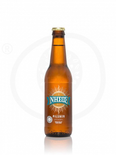 "Pilsner beer from Tinos ""Nissos"" 330ml"