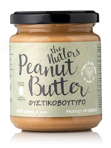 "Sugar-free peanut butter from Volos ""The Nutlers"" 250g"
