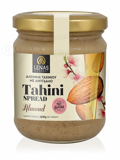 "Sugar free tahini spread with almond, from Korinthia ""Lena's Gourmet"" 190g"