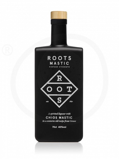 "Traditional liqueur mastic «Vintage Strength» with Chios mastic from Attica ""Roots"" 700ml"