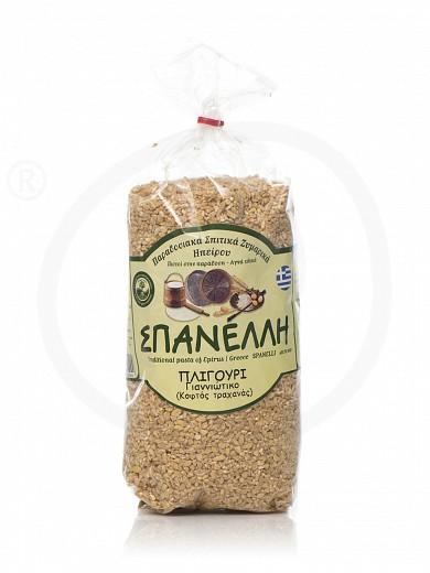 "Traditional pligouri from Ioannina ""Spanelli"" 500g"