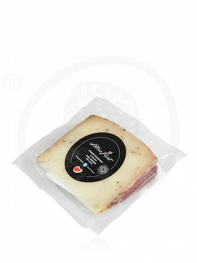 """Aged Graviera with savory from Crete """"Bliss Point"""" 125g"""