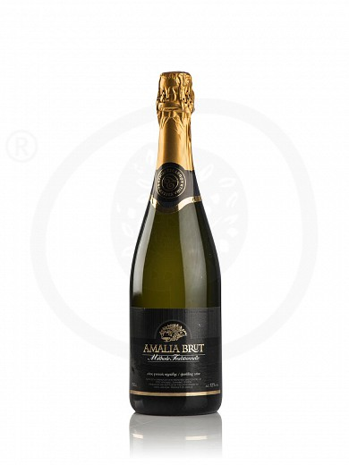 "«Amalia» ""Tselepos Winery"" white dry sparkling wine 750ml"