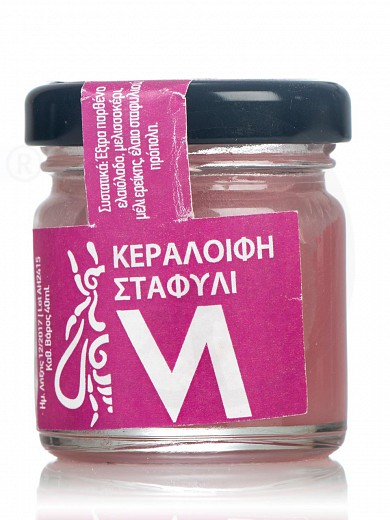 "Beeswax with heather honey & grapeseed oil, from Evia ""Melira"" 40g"