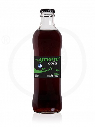 """Cola with stevia from Attica """"Green Cola"""" 250ml"""