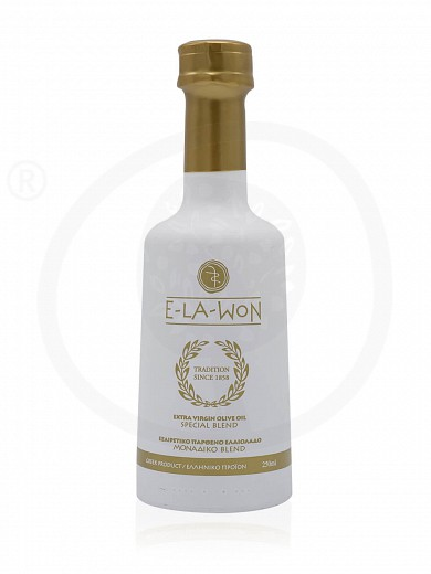 "Extra virgin oil «Special blend» from Attica ""Elawon"" 250ml"