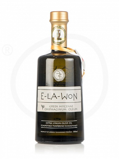 "Extra virgin olive oil «Premium» from Attica ""Elawon"" 500ml"
