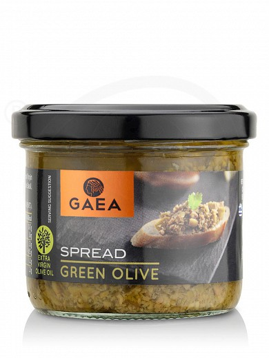 "Green olive spread from Chalkidiki ""Gaea"" 100g"