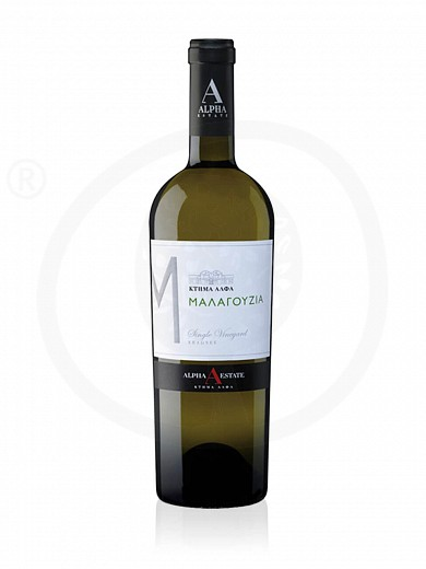 "Malagouzia P.G.I Florina ""Alpha Estate"" White Wine 750ml"