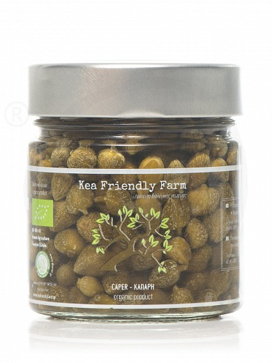 "Organic caper from Kea ""Kea Friendly Farm"" 230g"