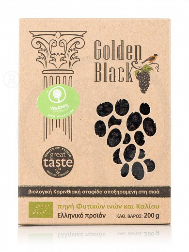 "Organic Corinthian black currant from Nemea ""Golden Black"" 200g"