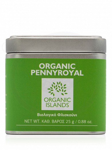 "Organic pennyroyal from Naxos ""Organic Islands"" 25g"