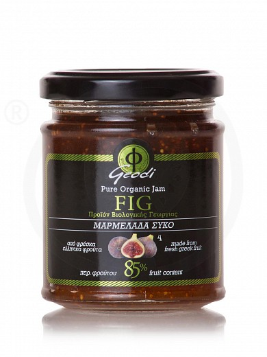 "Organic pure fig jam from Attica ""Geodi"" 225g"