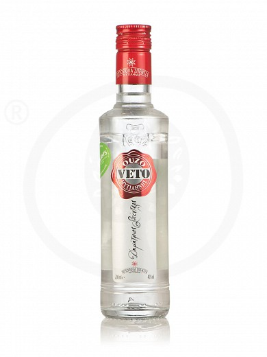 "Ouzo (greek distillate) from Mytilini ""Veto"" 200ml"