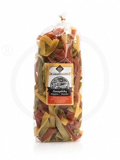 "«Papardelle» traditional vegetables pasta from Ilia ""Andritsena"" 500g"