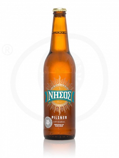 "Pilsner beer from Tinos ""Nissos"" 500ml"