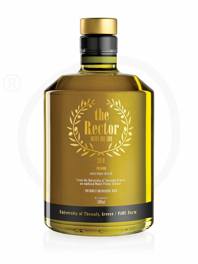 """Premium extra virgin olive oil from the University of Thessaly """"The Rector Olive Oil Lab"""" 500ml"""