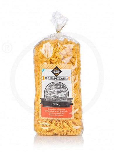 "«Spiral shape» traditional pasta from Ilia ""Andritsena"" 500g"