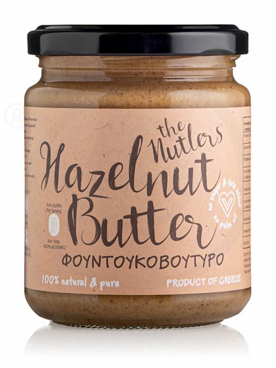"""Sugar-free hazelnut butter from Volos """"The Nutlers"""" 250g"""