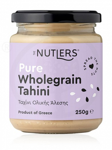 "Sugar-free pure wholegrain tahini from Volos ""The Nutlers"" 250g"