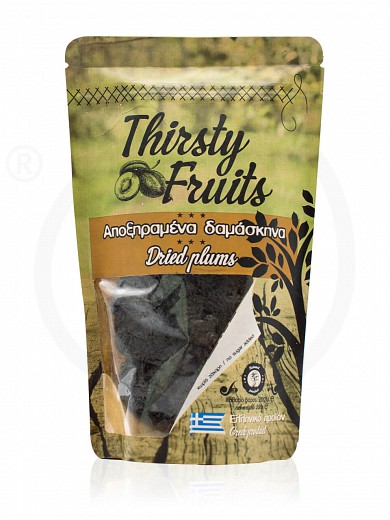 """Sugar-free sun-dried plums from Xylokastro """"Thirsty Fruits"""" 200g"""