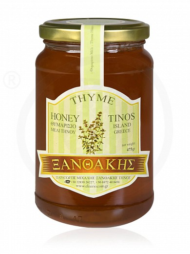 "Thyme honey from Tinos ""Ksanthakis"" 475g"