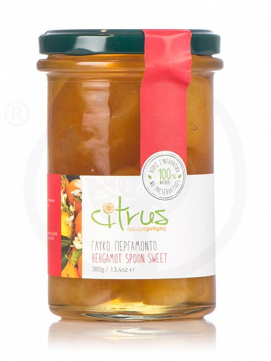 "Traditional bergamot spoon-sweet from Chios ""Citrus"" 380g"