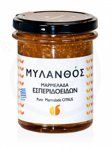 "Traditional citrus marmalade from Xylokastro ""Mylanthos"" 270g"