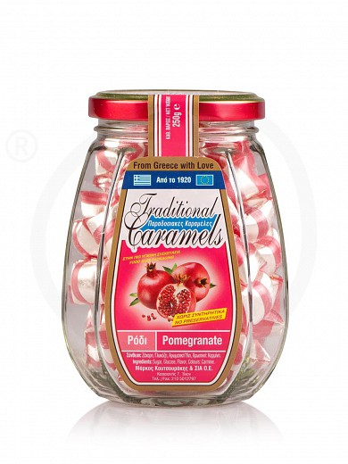 """Traditional pomegranate candies from Attica """"Koutsourakis"""" 250g"""