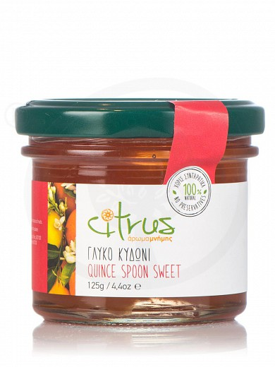 "Traditional quince spoon-sweet from Chios ""Citrus"" 125g"